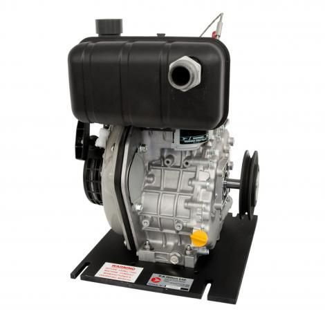 4 STROKE DIESEL ENGINE, SINGLE CYLINDER