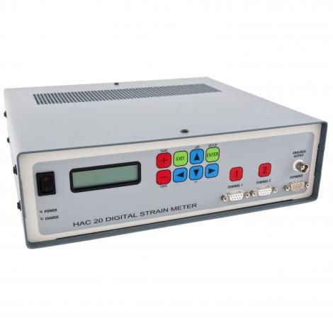 2 CHANNEL DIGITAL STRAIN METER